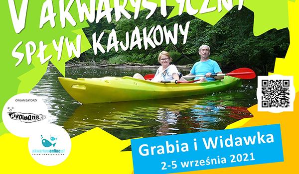 Już kolejny V Akwarystyczny Spływ Kajakowy (Grabia i Widawka 2021)
